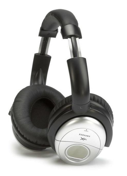 Creative Technology Aurvana XFi Noise Cancelling Headphones Black/Silver