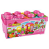 LEGO Duplo All-in-One Pink-Box of Fun Bucket 10571