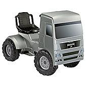 Ferbedo MAN Pedal Truck Silver