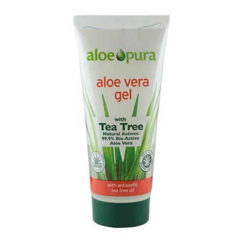Aloe Vera Gel & Tea Tree (200ml Gel)
