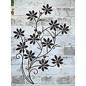 Flower Branch Wall Art - set of 2