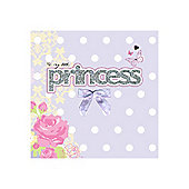 Glitter Princess Card
