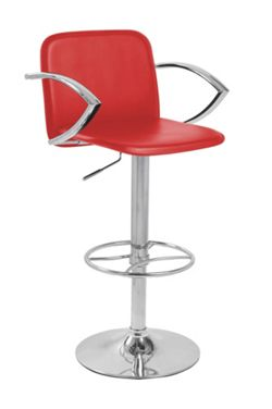 Lamboro Barstools Bueno Bar Stool - Red