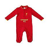 Liverpool Baby Core Kit Sleepsuit - 2016/17 Season - Red
