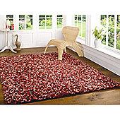Fondant Truffle Cranberry 120x170 cm Rug