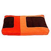 Cool Pets Retro Matress Pet Bed - Brown - Large (28 cm H x 38 cm W x 4 cm D)