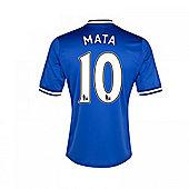 2013-14 Chelsea Home Shirt (Mata 10) - Blue