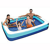 6ft Rectangular Family Paddling Pool