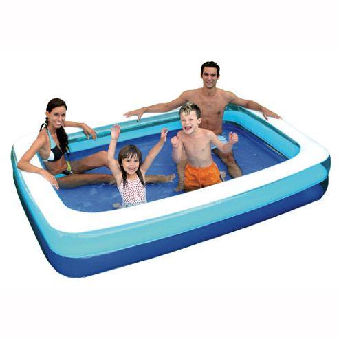 Buy 6ft rectangular family paddling pool from our pools for Family paddling pool