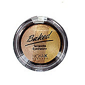 Nicka K Baked Terracotta Trio Eyeshadow-10 Sparkle Gold