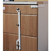 Safetots Chest of Drawers Lock White