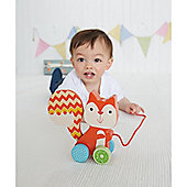 ELC Wooden Pull Along Squirrel