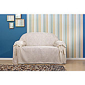 Rachel Easyfit Cover Ivory - Small Sofa