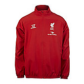 2014-15 Liverpool Warrior Presentation Jacket (Red) - Red