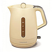 Morphy Richard 101204 Jug Kettle 1.5 Litre Capacity with 3kw Boil in Cream