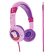 Peppa Pig Hearts Headphones