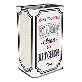 Keep in Fridge Magnet Mini Tin Make Yourself at Home Clean My Kitchen