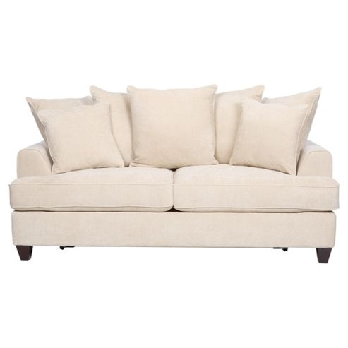 Kensington Fabric Scatter Back Sofa Bed Biscuit