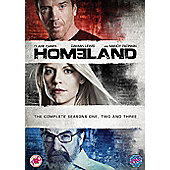 Homeland Seasons 1-3 (DVD Boxset)
