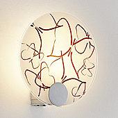 Paulmann DS Modern Disc Butterflies Wall Lamp