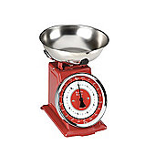 Red Retro Scales