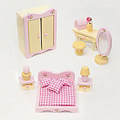 Sweetbee Master Bedroom Dolls House Furniture Set