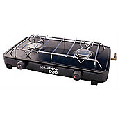 Yellowstone Steel Compact Double Camping Burner