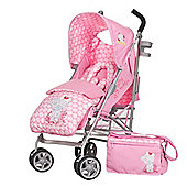 Tiny Tatty Teddy Stroller Bundle - Pink