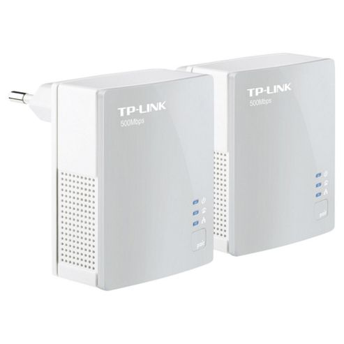 TP-LINK 500Mbps Nano Powerline Twin Pack