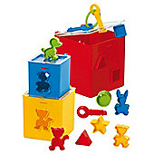Gowi Toys 453-21 Locking Puzzle Box