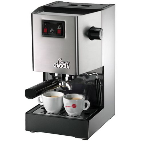 Gaggia RI8161/40 Espresso Coffee Machine - Stainless Steel