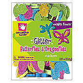 Glitter Butterflies & Dragonflies Sticker