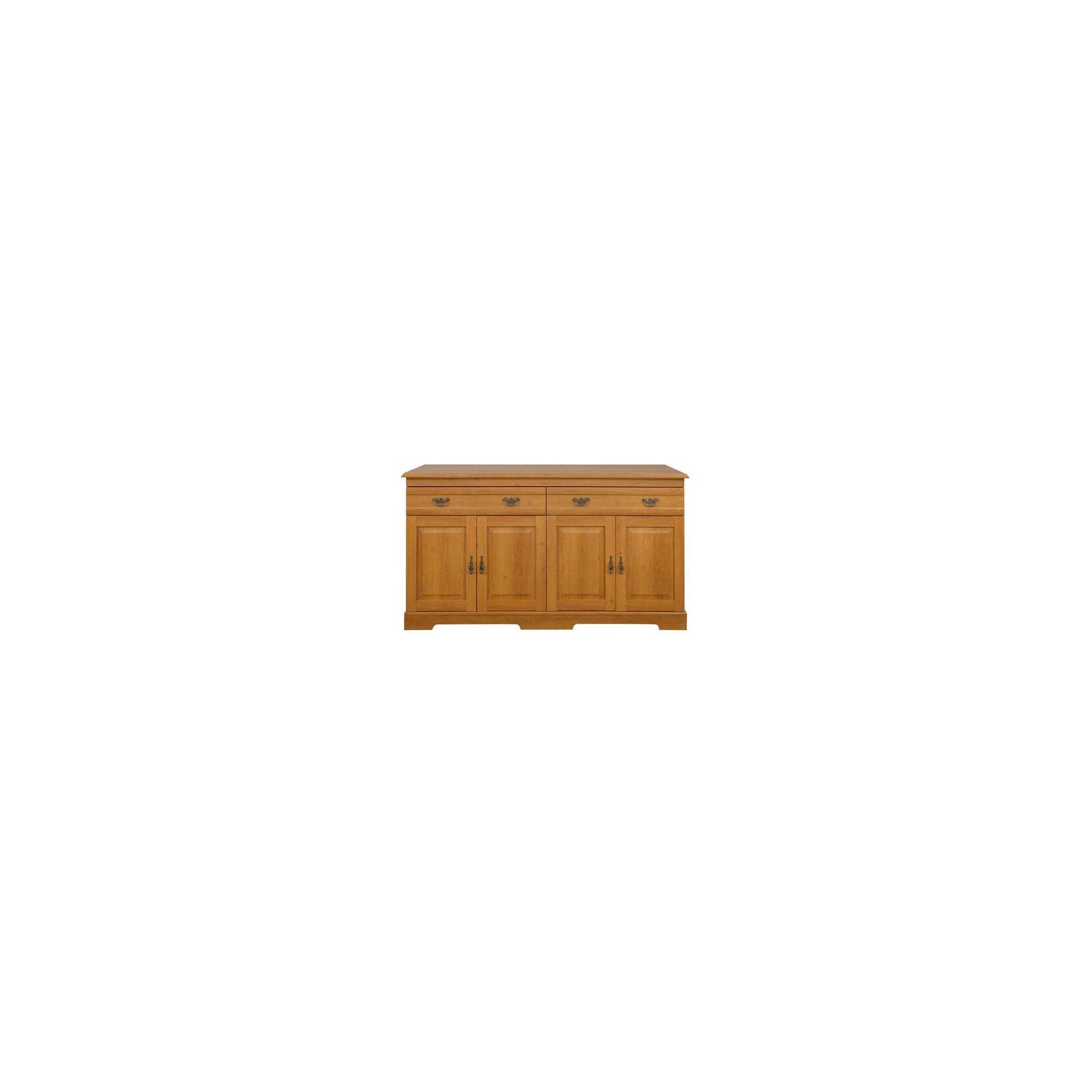 Caxton Canterbury 4 Door / 2 Drawer Sideboard in Golden Chestnut at Tesco Direct