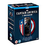 Captain America: 1-3-Movie Collection Blu-ray