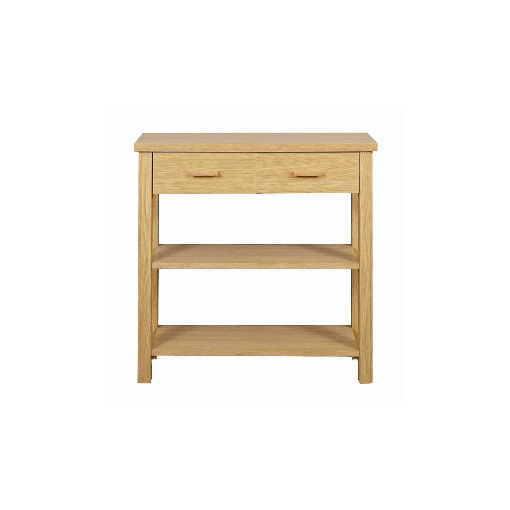 Other Caxton Huxley 4 Leg Console Table in Light Oak