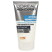 L'Oreal Men 150ML Hydra Sensitive Foam Wash