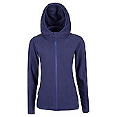 Hebridean Melange Womens Fleece - Purple