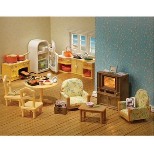 Buy Sylvanian Families Kitchen And Living Room Furniture Collection From Our Sylvanian