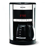 Morphy Richards 162004 Accents Digital Filter Coffee Maker - Polished S/Steel