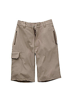Craghoppers Mens Kiwi Long Walking Shorts - Beige