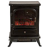 Igenix IG9430 1.8kW Oakmen Flame Effect Stove Fire - Black