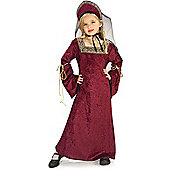 Child Tudor Lady Costume Large