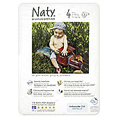 Naty By Nature Babycare Nappies- Size 4 - Medium - 32 Pack