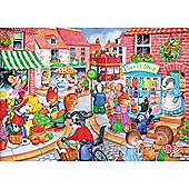 In The Town - Kidz Jigs 80 Piece Puzzle