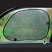 Foldable sunshade hatchback
