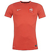 2014-15 France Nike Training Shirt (Red) - Red