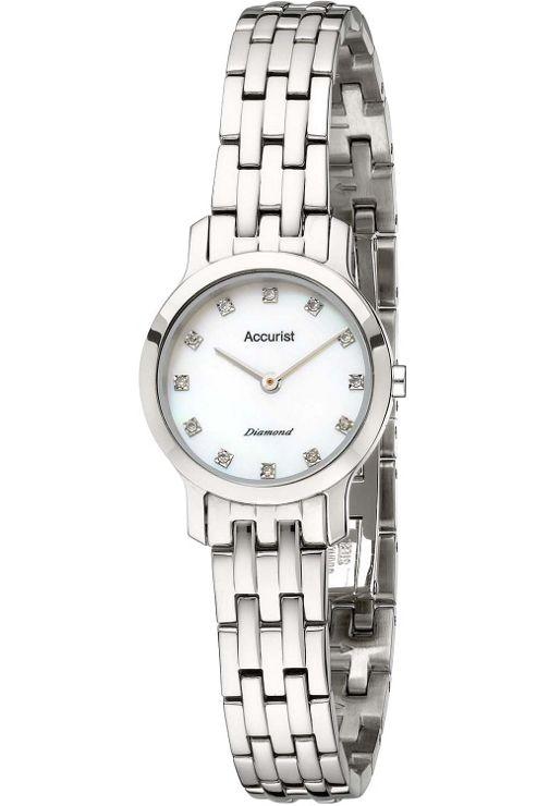 Accurist Ladies Diamond Bracelet Watch LB1582P