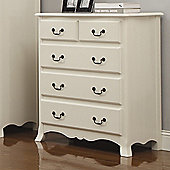 Home Zone Chantilly 5 Drawer Chest
