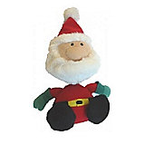 Animate Father Christmas Rope Squeaky Dog Toy 227mm
