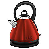 Russell Hobbs Heritage 1.8L Traditional Kettle - Red
